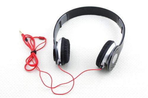 New Headphone Stereo Headset Earphone Foldable For Dj Psp Mp3 Mp4 Pc 3.5Mm