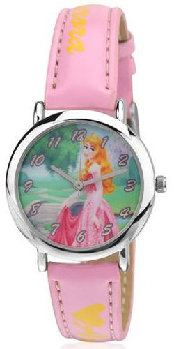 Disney Disney Analog Multi-Color Dial Women's Watch - 3K2199U-PS (PINK) (Multicolor)
