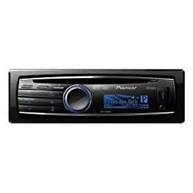Pioneer DEH-P8300UB CD Receiver with iPod/iPhone Control, Pandora Player and Graphic OEL Display