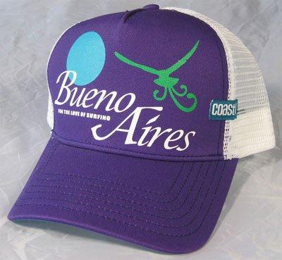 Coastal Cap Buenos Aires viola/bianco
