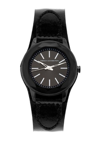 French Connection Ladies Watch FC1064BB with Black Dial and Black Cuff