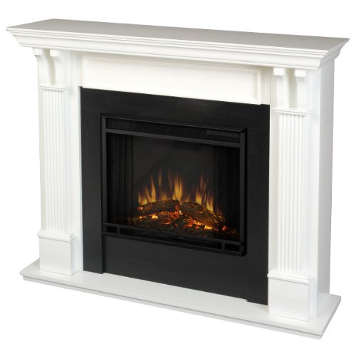 The Sexton Ventless Electric Indoor Fireplace - White image B007PTI3UI.jpg