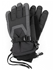 Panelled Ski Gloves