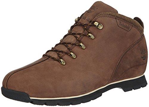 timberland brown splitrock hiker boots