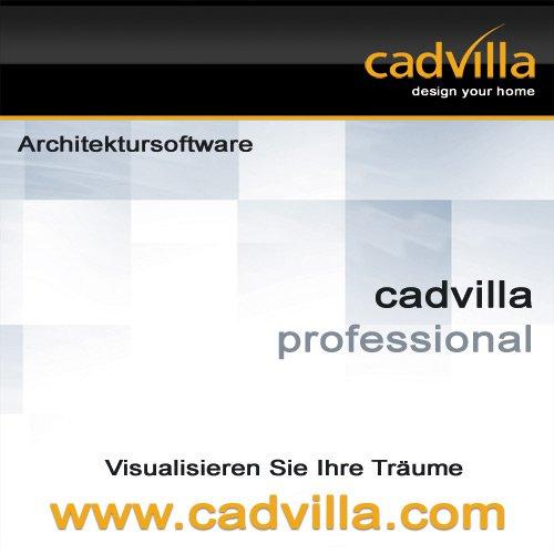 cadvilla professional architektur 2d 3d cad software programm nutzbar als hausplaner. Black Bedroom Furniture Sets. Home Design Ideas