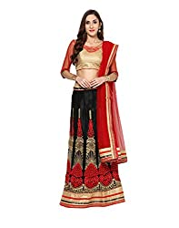 Yepme Women's Multi-Coloured Blended Lehengas - YPMLEHG0102_Free Size