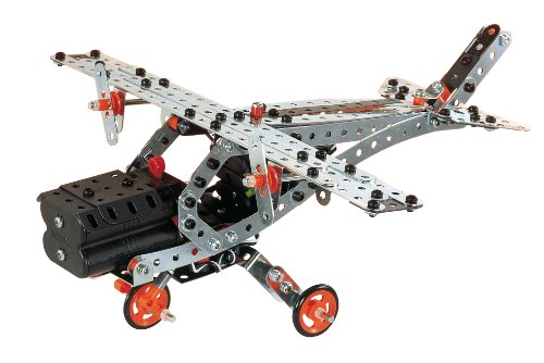 meccano build and play helicopter with 252643061074 on Meccano Super Construction Set 25 Motorized Model Building Set 638 Pieces Ages 10 Stem Education Toy in addition 371245874183 together with Meccano Build And Play Helicopter P10906 additionally Beluga Meccano Build Pl likewise Baril Junior 150 pièces.
