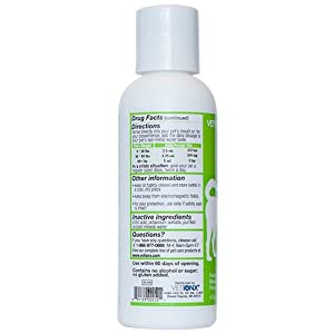 Derma-IonX Pet Skin Care for Dogs and Cats. All-Natural Homeopathic Medicine Quickly Relieves Dry, Itchy, Red, Scaly, Chapped and Cracked Skin in Dogs and Cats. Supports Relief from Rashes, Hives, and Eczema. 1 Bottle - Direct from Manufacturer.
