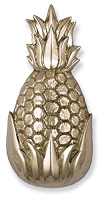 Michael Healy Designs MH1503 Hospitality Pineapple Door Knocker, Nickel Silver