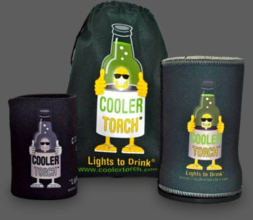 Fun Torch Koozies