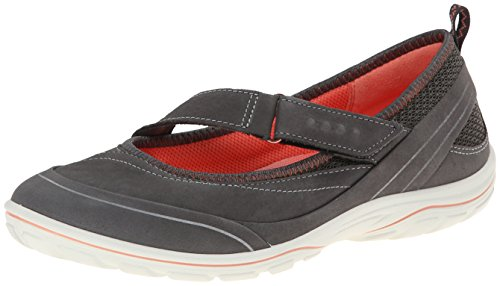 ECCO Arizona Scarpe da Corsa, Donna, Nero(Dark Shadow/Dark Shadow/Coral 58926), 37