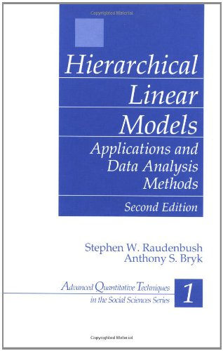 Hierarchical Linear Models: Applications and Data...