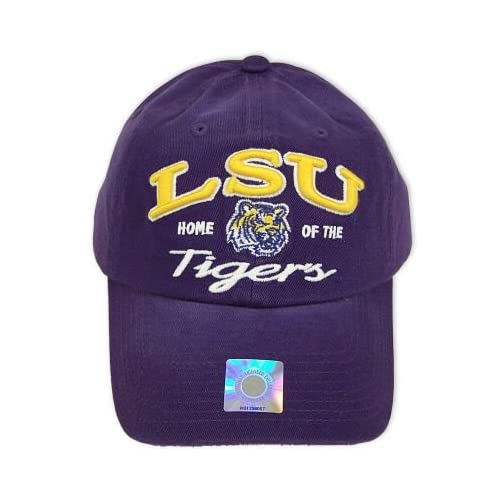 LSU TIGERS OFFICIAL NCAA LOGO COTTON HAT CAP
