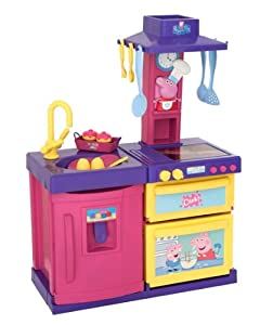 peppa pig cook and play kitchen co uk toys