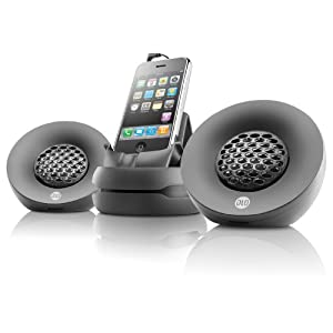 Digital Lifestyle Outfitters DLZ72626,17  Portable Speakers for iPhone (Black)