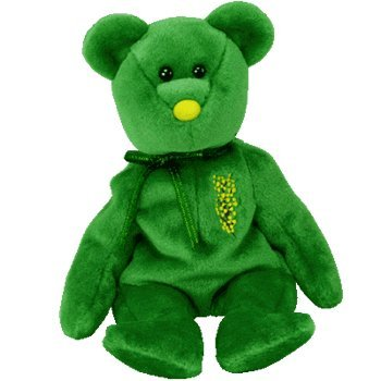 1 X TY Beanie Baby - WATTLIE the Bear (Australia Exclusive)