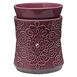 Scentsy Thistle Purple Candle Warmer
