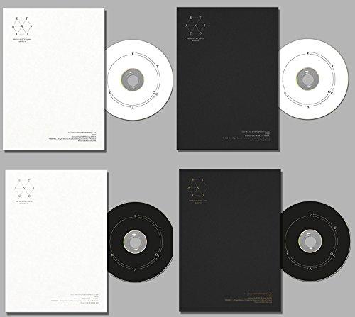4枚セット 【韓国語&中国語 Lucky One & Monster】 (翻訳付) 初版 EXO 正規3集 EX'ACT (韓国盤)(8枚×初回ポスター/特典付)(ワンオンワン店限定)