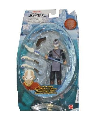 Buy Low Price Mattel Avatar the Last Airbender Basic Water Series Action Figure War Paint Sokka (B000MR1CPS)