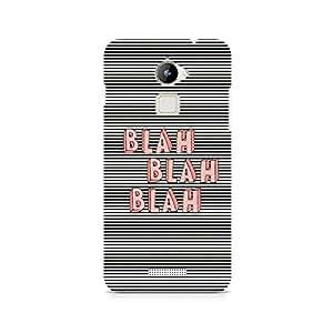 Ebby Blah Blah Classy Premium Printed Case For Coolpad Note 3 Lite