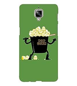 EPICCASE Darth popcorn Mobile Back Case Cover For OnePlus Three (Designer Case)