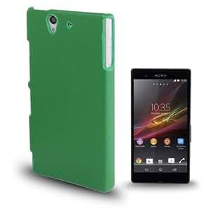 Litchi Texture Plastic Case for Sony Xperia Z / L36H / C6603 (Green)