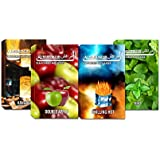 HOOKAH AL-MARRAKESH 4 DIFFERENT FLAVOURS(PACK OF FOUR ) 0020A