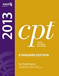 CPT 2013 Standard Edition (Current Procedural Terminology (Standard)) (Cpt / Current Procedural Terminology (Standard Edition))
