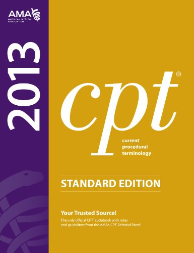 CPT 2013 Standard Edition (Current Procedural Terminology (Standard)) (Current Procedural Terminology (CPT) Standard) PDF