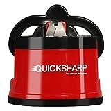 QuickSharp® Global - Aiguiseur de couteaux à fixation ventouse pour un résultat facil