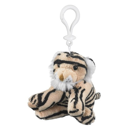 Plush Tiger Stuffed Animal Backpack Clip Toy Keychain Wildlife front-356804