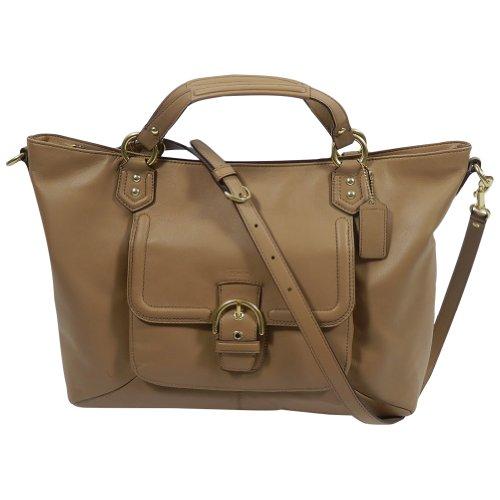 Coach  Coach Campbell F24683 Women's Tote Handbag Beige