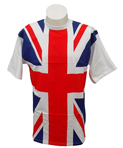 Union Jack T-Shirt Adults 100%