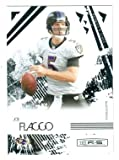 Joe Flacco football card (Baltimore Ravens) 2009 Panini Rookies and Stars #8 at Amazon.com