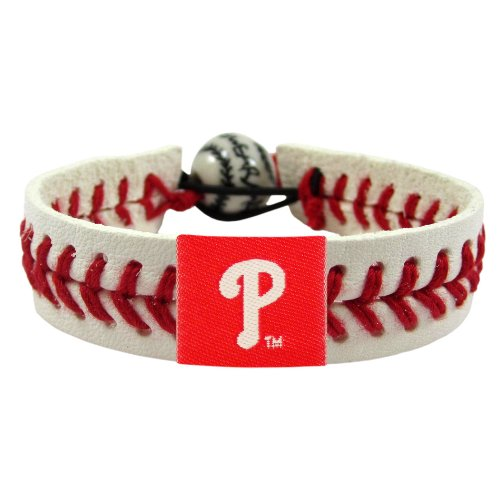 MLB Philadelphia Phillies Classic Baseball Bracelet at Amazon.com