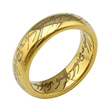 buy Zarbrina Love Fashion Celebrity Lettering Pave Tungsten Steel Lovers Band Couples Wedding Promise Ring Size:13