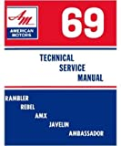 1969 AMC RAMBLER AMX Shop Service Repair Manual Book