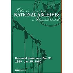 Universal Newsreels Vol. 33 Release 1-8 (1960)