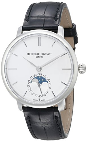 Frederique Constant Slim Line Moonphase Men's 38.8mm Automatic Watch FC703S3S6