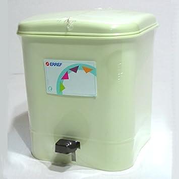 ERREF - Poubelle Salle de bain clic.clac 4 L Vert Pastel ...