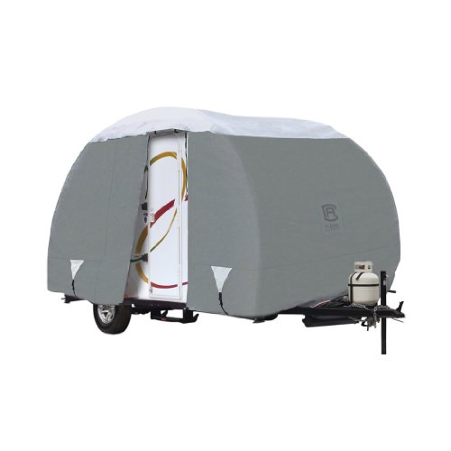 Classic Accessories OverDrive PolyPRO 3 Deluxe R-Pod Travel Trailer Cover, Fits up to 16' 6