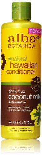 Alba Botanica Rich Conditioner, Coconut Milk, 12 Fl Oz