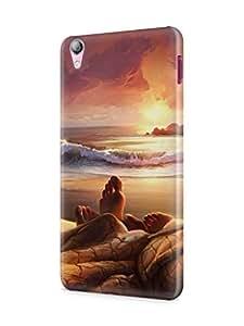 Cover Affair Love Printed Back Cover Case for Lenovo S850