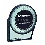 Mayes 10156 Protractor Angle Finder, Large