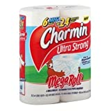 Charmin Toilet Paper Ultra Strong Mega Rolls 6 Ct (Pack of 3)