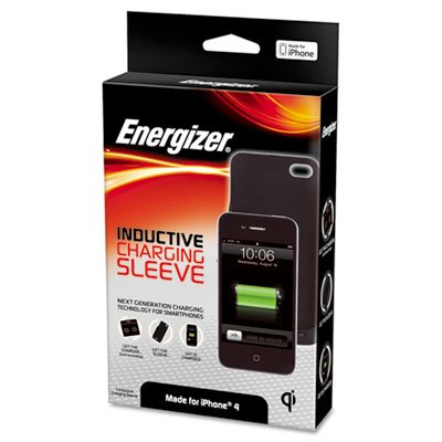 Energizer Qi Inductive Charging Sleeve for Iphone 4G