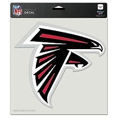Buy Atlanta Falcons Die-Cut Decal - 8x8 Color by Caseys