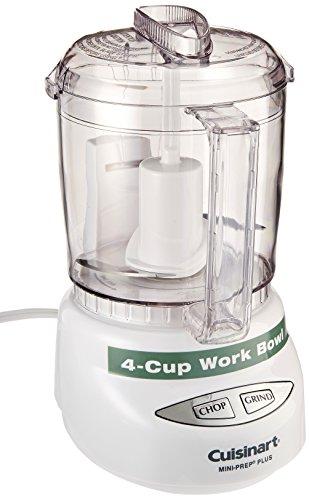 Cuisinart Mini-Prep Plus 4-Cup Food Processor, White (Cuisinart Food Processor Top compare prices)