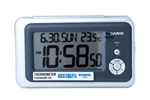 CASIO 10271 DQ-748-8D - Reloj Despertador digital gris de J.M.Garcia Garcia