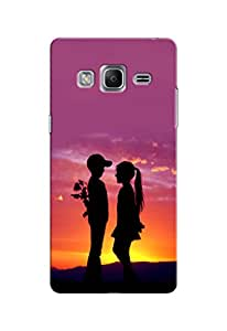 Link+ Designer Back Cover For Samsung Z3 Tizen